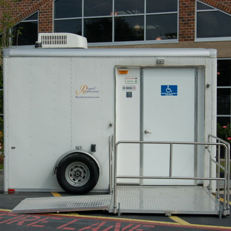Restroom Trailers Portable Toilets for Business Remodels