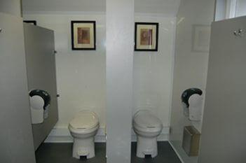 Ten Stall Portable Restroom Trailers  Crowd Pleaser