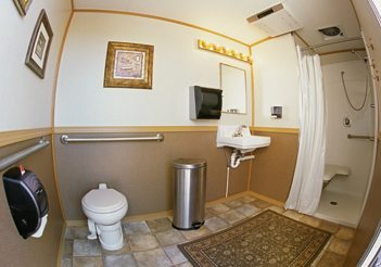 ADA Compliant Shower Trailer by Royal Restrooms