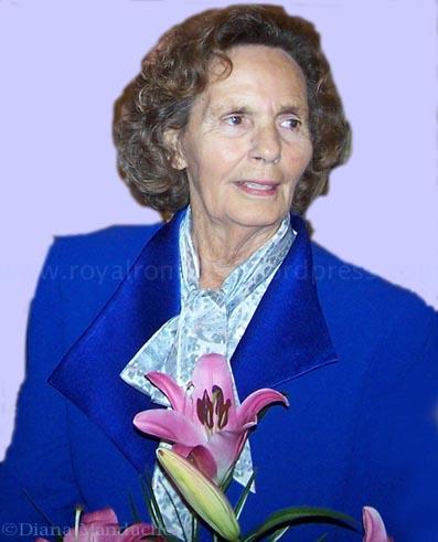 Queen Anne Of Romania 86th Birthday Anniversary Diana
