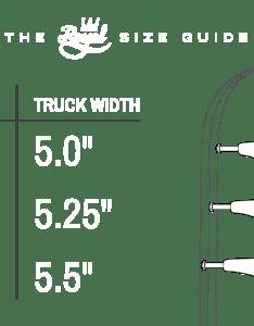 Size chart also trucks royal rh royalskateboardtrucks