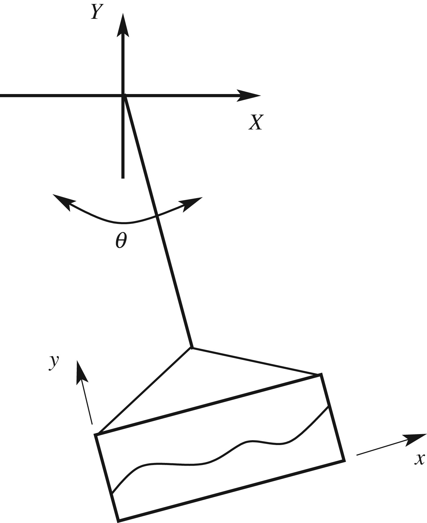 A variational principle for fluid sloshing with vorticity