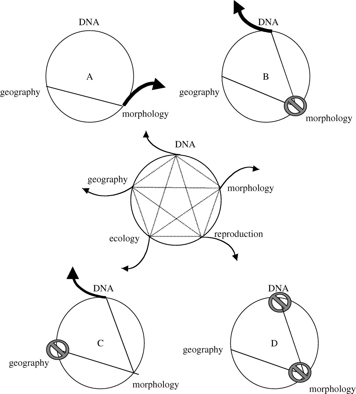 The Unholy Trinity Taxonomy Species Delimitation And Dna