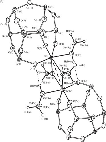 Silsesquioxanes as molecular analogues of single-site