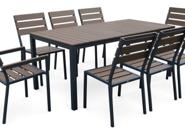 Table De Jardin Imitation Resine | Awesome Salon De Jardin Imitation ...