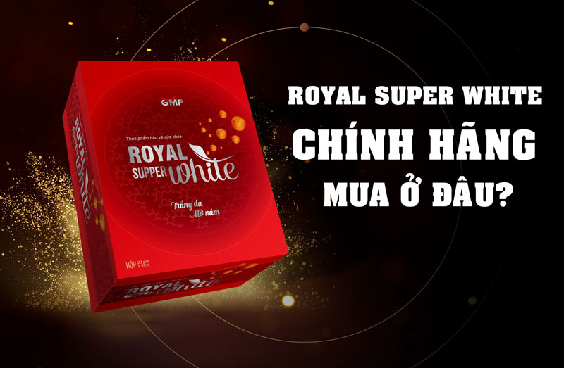 ROYAL SUPER WHITE MINH LADY BEAUTY MUA Ở ĐÂU