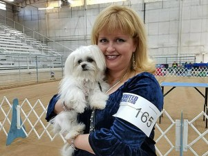 Brighton-Royal-T-Miki-first-dog-show