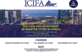 Local and International Investors to meet in Naivasha for Smart Cities Conference