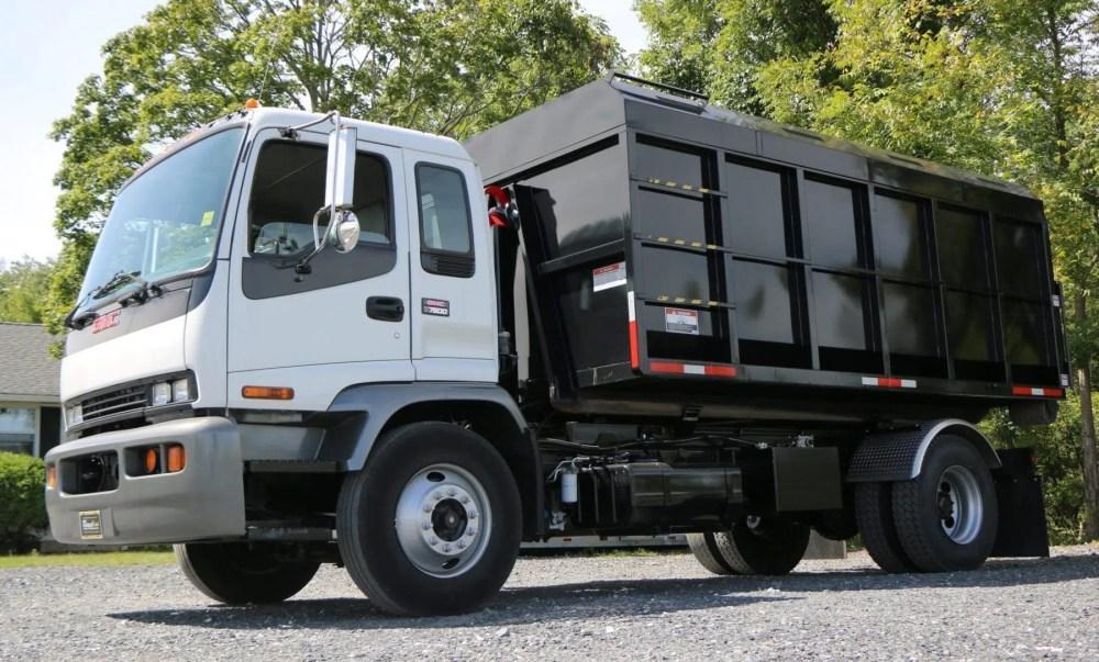 medium resolution of 2006 gmc hooklift truck