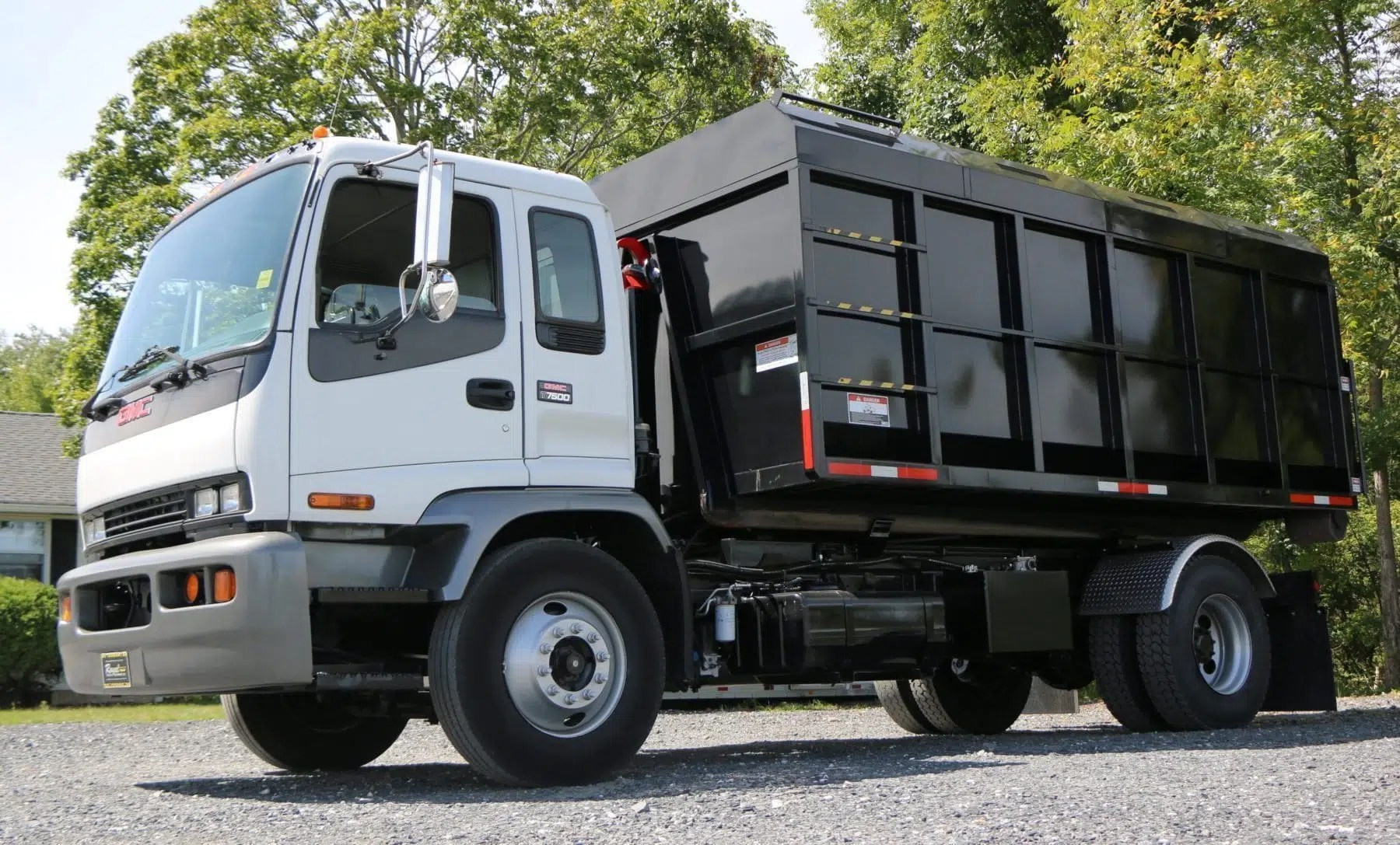 hight resolution of 2006 gmc hooklift truck