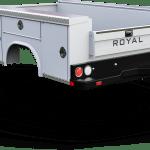 8 Low Profile Srw Royal Truck Body