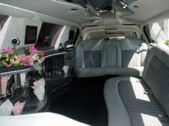 Ten passenger interior