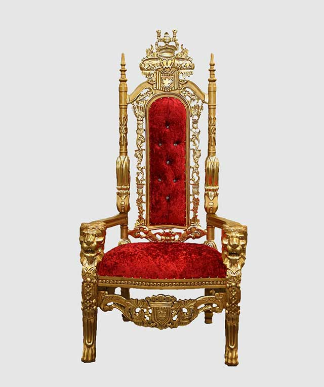 high backed throne chair zero gravity reclining queen of hearts red and gold royalty 2 641 00 1 820 click