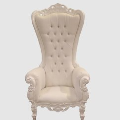 High Backed Throne Chair Joss And Main Dining Chairs White On Royalty Furniture Store 2 641 00 1 600 Sale Click