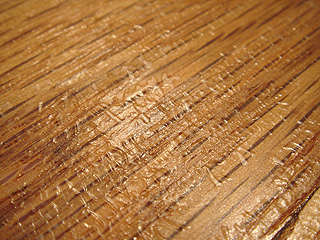 Stains and Wrinkling Are Problems with Hard Wood Floors