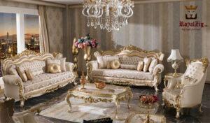 shah imperial carving sofa set