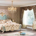 Chandigarh Classic Style Royal White And Gold Bedroom Set