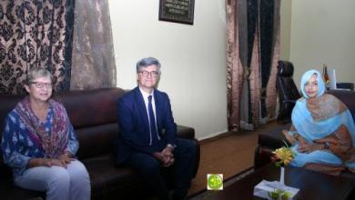 Photo of وزيرة البيئة تعقد مباحثات مع السفير مندوب الإتحاد الأوروبي