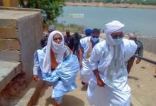 Photo of گيدي ماغا: والي الولاية يقوم بعملية تحسيس ضد الوباء في القرى النهرية