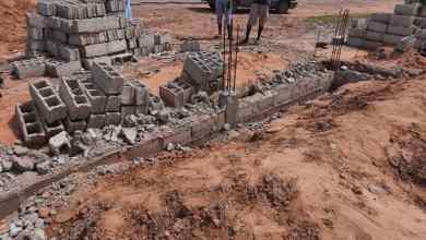 صورة گوگي الزمال: شكاوى من هدم سور على قطع أرضية لمواطنين