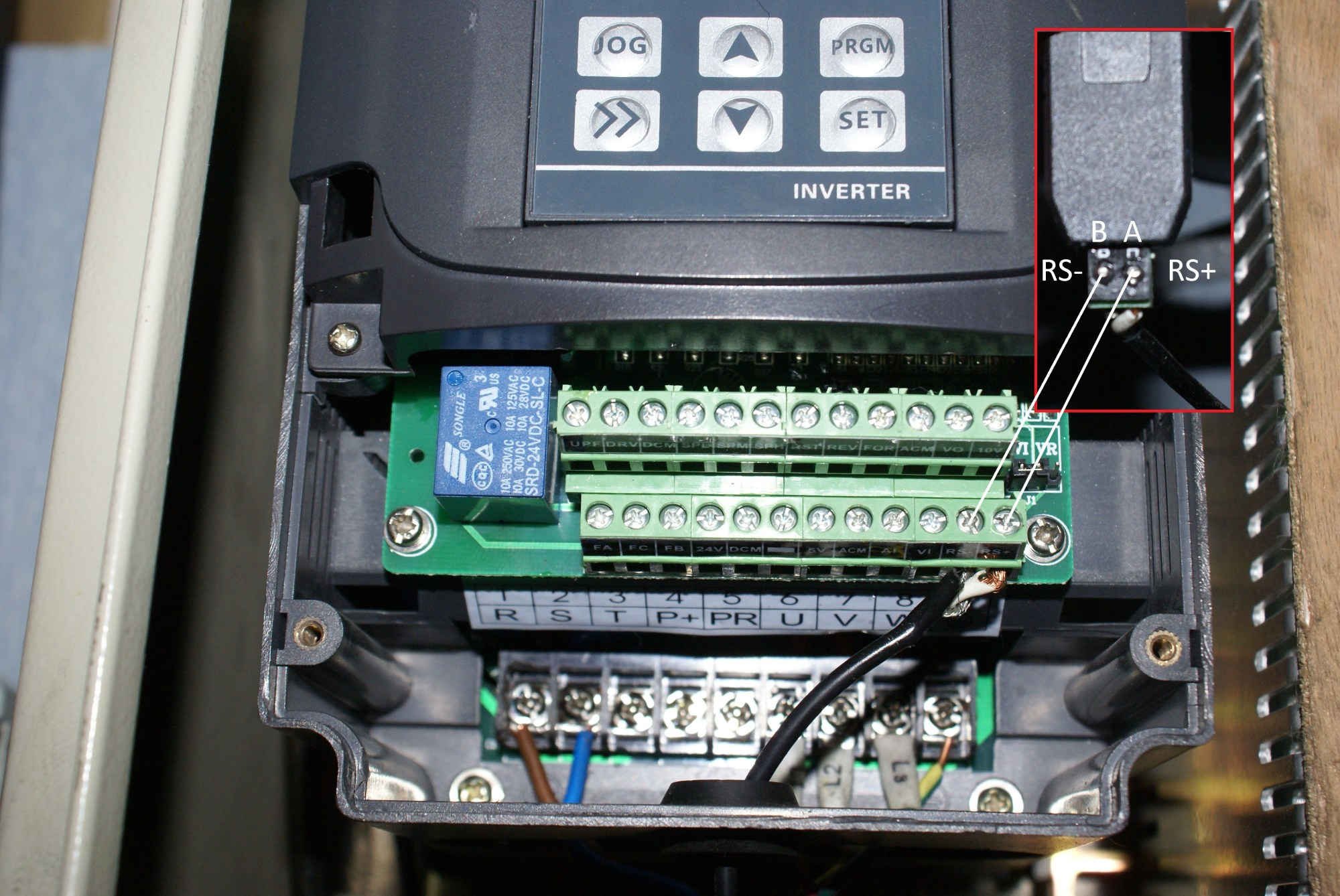 hight resolution of mach3 plugin for huanyang vfd le royaume d ole vfd drives vfd wiring mach3