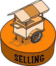 Framework Icon 05 -- Selling