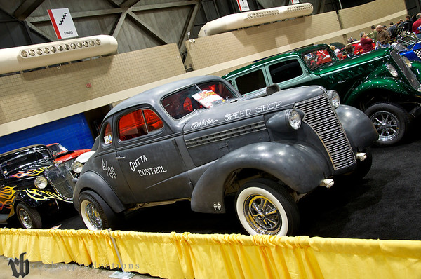 1938 Chevrolet Coupe'A' Gas Supercharged