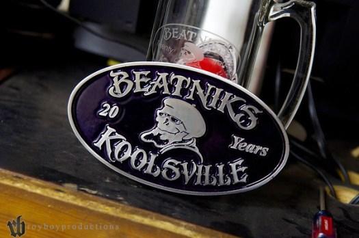 Beatniks 20 Year Plaque