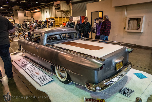 1950; 2017; CA; California; Ford; GNRS; Grand National Roadster Show; Pomona; Tony Gomes; sedan 1950 Ford Sedan owned by Tony Gomes, originally owned by Richard Gregg
