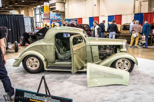 1935; 2017; 3 Window Coupe; CA; California; Chevy; David Thomas; GNRS; Grand National Roadster Show; Pomona; chevrolet 1935 Chevrolet 3 Window Coupe owned by David Thomas