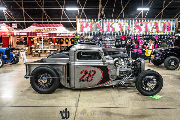 1935; 2017; CA; California; Ford; GNRS; Grand National Roadster Show; Pickup; Pomona; Tim McNulty 1935 Ford Pickup owned by Tim McNulty