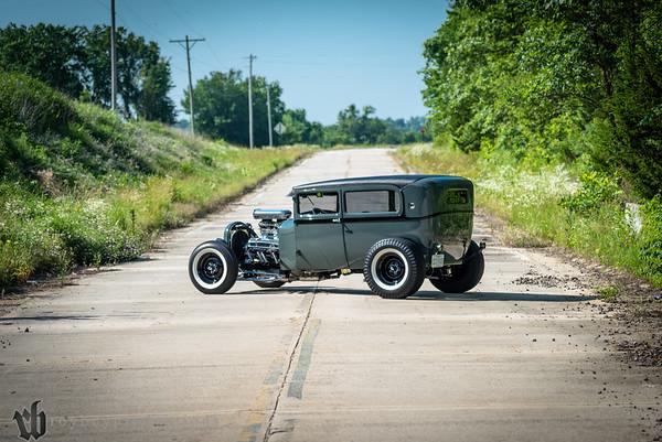 Scott Mills 1928 Model A Sedan The Right Recipe
