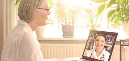 Virtual consultations are not appropriate when giving bad news