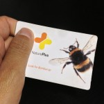 The NaturePlus card is for you to scan interesting information for you to read on from their website later, a very handy way for time saving!