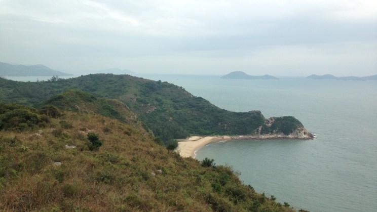 Hau Ling Chung beach, Stage 7, Lantau Trail