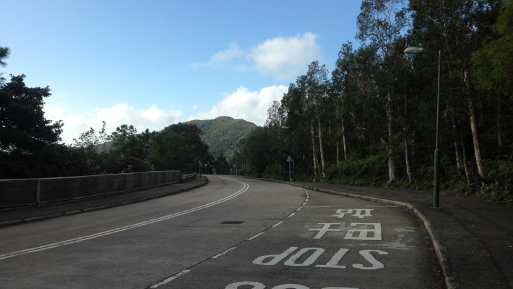 Pedestrian & Bus Stop, Stage 4, Lantau Trail