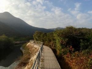 Well-paved path to Ham Tin Wan