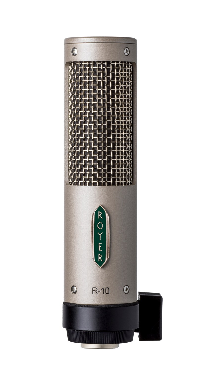 Royer Labs Announces R-10 Ribbon Microphone