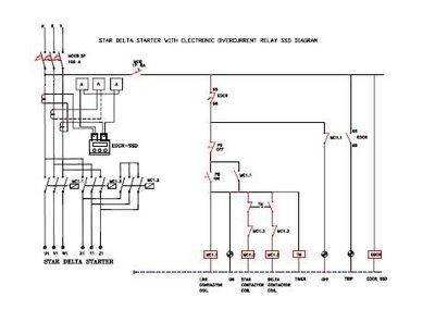 star delta control wiring diagram with timer sand filter mengoperasikan motor 3 fasa dengan sistem pengendali elektromagnetik | royers's blog