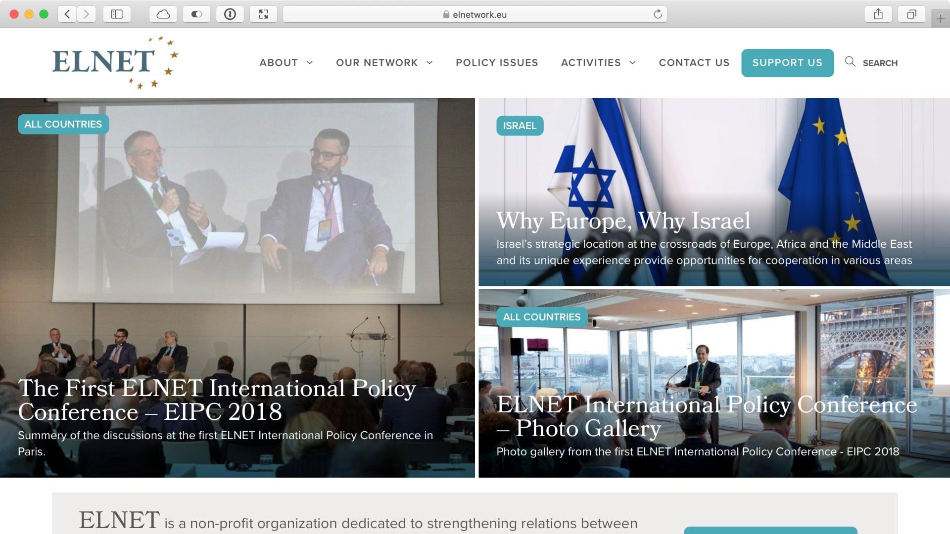 European League Network Homepage
