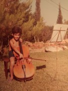 Cellist Roy Harran, age 7