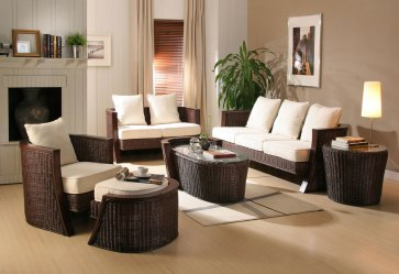 room living paint decorate colors furniture grey wicker
