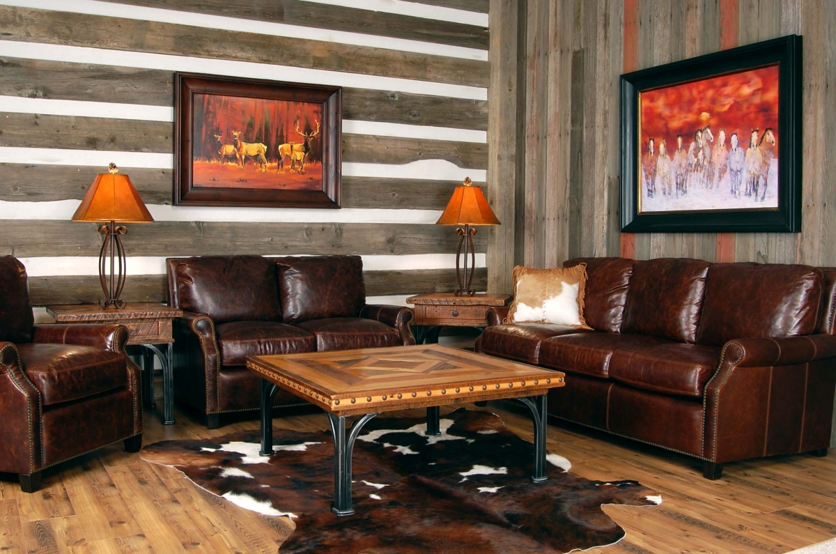 Unique Accent Table Western Living Room Ideas On A Budget | Roy Home Design