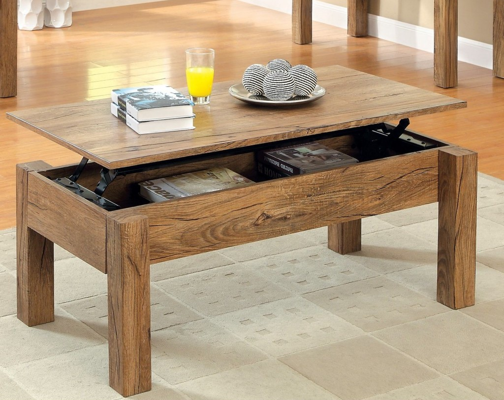 Table Basse Ikea Bois Novocom Top