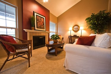 room living wall burgundy colors beige schemes accent accents bedrooms paint walls fireplace narrow warm rooms most current intended nuanced