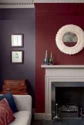 burgundy room living schemes brown colors accent dark light
