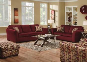 room living burgundy schemes