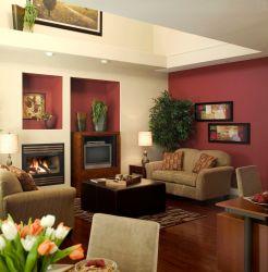 room living burgundy schemes combination light dark