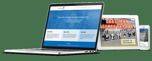 Responsive Website Design Showcase
