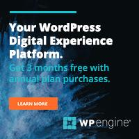 WPEngine WordPress web hosting